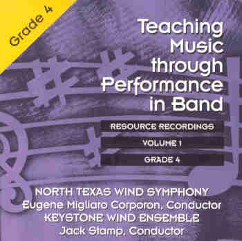 Teaching Music through Performance in Band #1 Grade 4 - click here