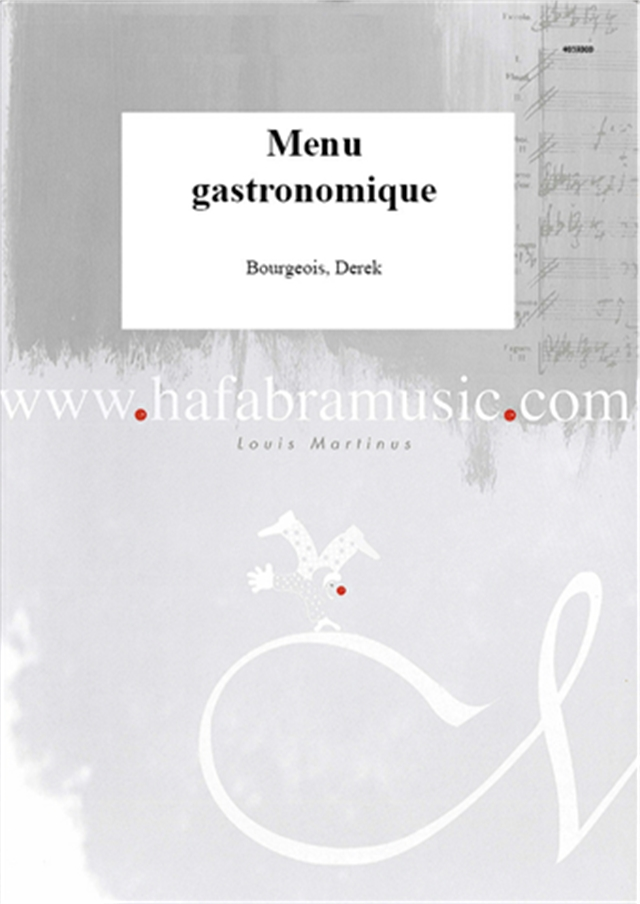 Menu gastronomique - click for larger image
