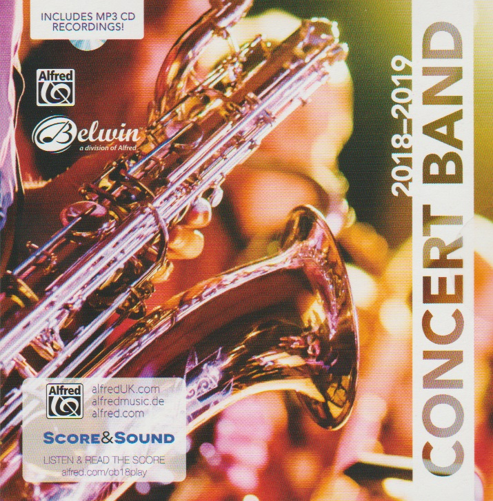 Alfred 2018-2019 Concert Band - click here