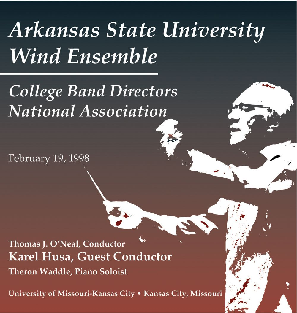 1998 College Band Directors National Association: Arkansas State University Wind Ensemble - click here