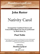 Nativity Carol, John Rutter, Paul Noble - click here