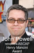 2018-03-24 Composer John Powell receives ASCAP Henry Mancini Award - click here